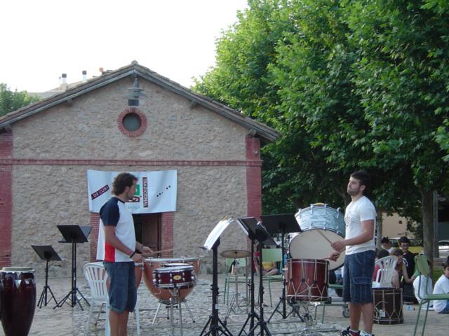 Alumnes Tabal/Percussió