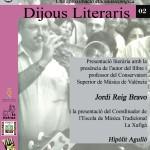 """Presentació llibre """"La Música Tradicional Valenciana"""""""